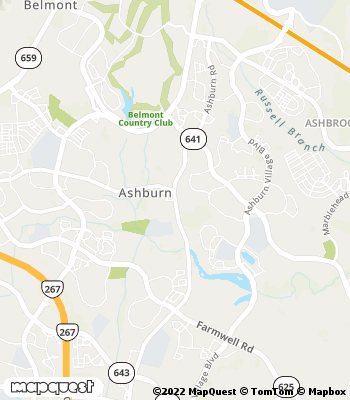 Map of Ashburn - Collection Agency