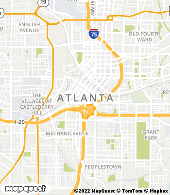 Map of Atlanta - Collection Agency
