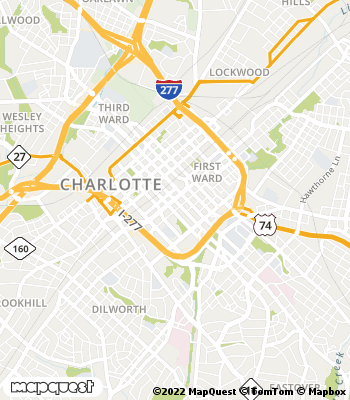 Map of Charlotte - Collection Agency