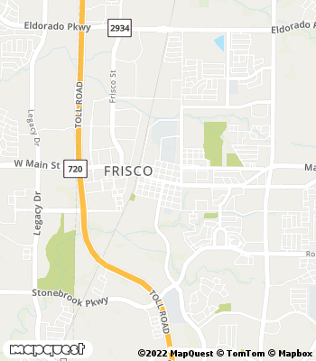 Map of Frisco - Collection Agency