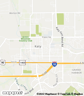 Map of Katy - Collection Agency