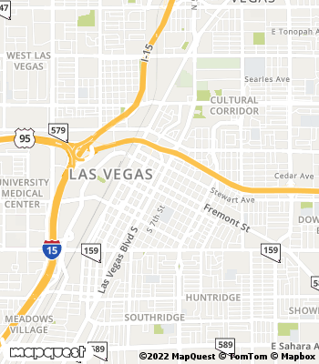 Map of Las Vegas - Collection Agency