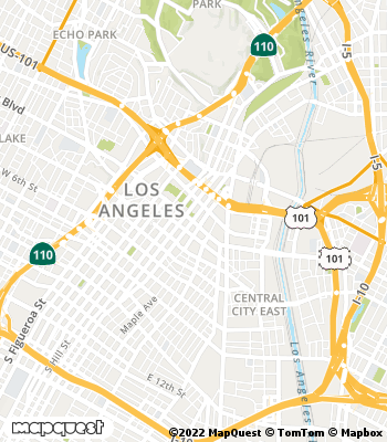 Map of Los Angeles - Collection Agency