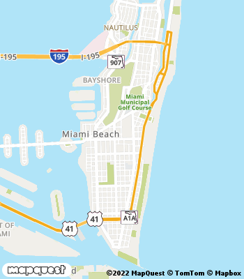 Map of Miami Beach - Collection Agency