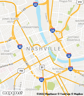 Map of Nashville - Collection Agency