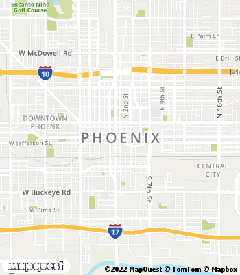 Map of Phoenix - Collection Agency