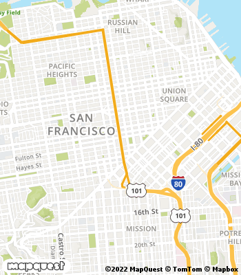 Map of San Francisco - Collection Agency
