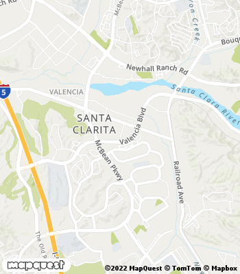 Map of Santa Clarita - Collection Agency