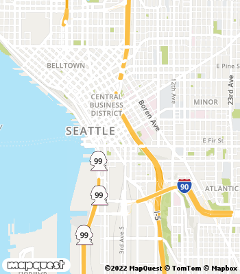Map of Seattle - Collection Agency