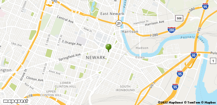 Newark, NJ, 07102 Map