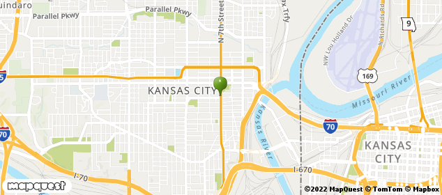 Kansas City, Kansas Map