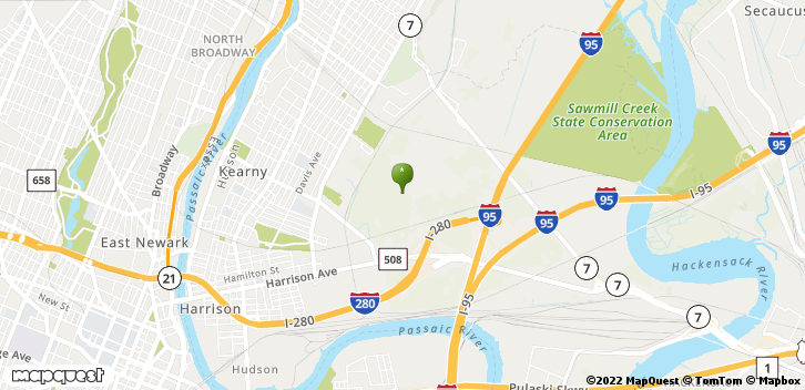 Kearny, NJ, 07032 Map