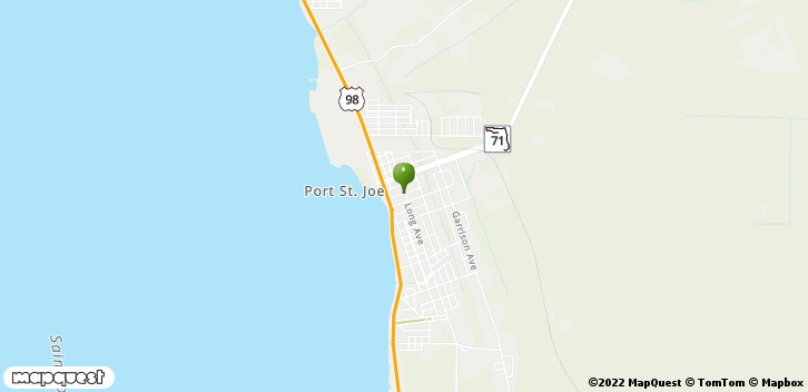 Port Saint Joe, FL, 32457 Map