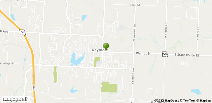 Raymore, MO, 64083 Map