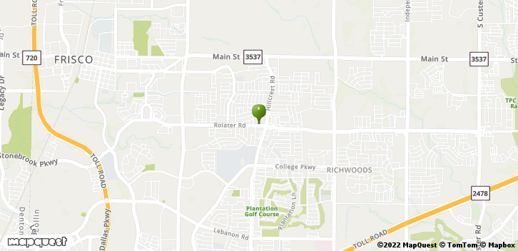 10700 Rolater Rd Frisco, TX, 75035 Map