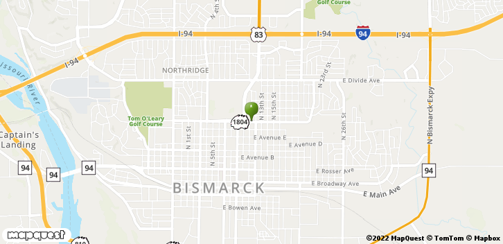 1100 E Boulevard Ave Bismarck, ND, 58501 Map