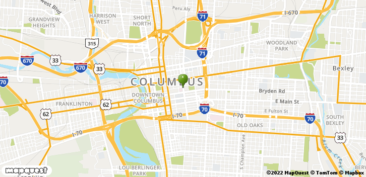 111 S Grant Ave Columbus, OH, 43215 Map