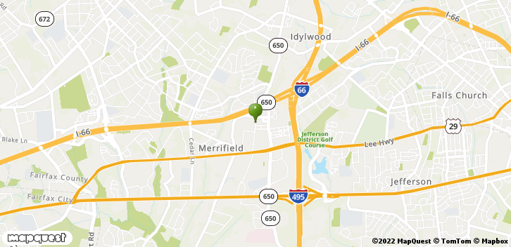 2722 Merrilee Dr Fairfax, VA, 22031 Map