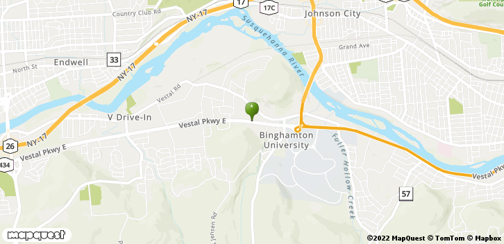 3701 Vestal Pkwy. East Vestal, NY, 13850 Map