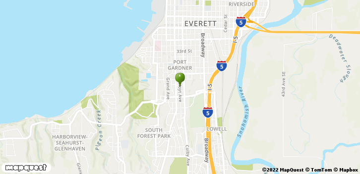 3901 Hoyt Ave Everett, WA, 98201 Map