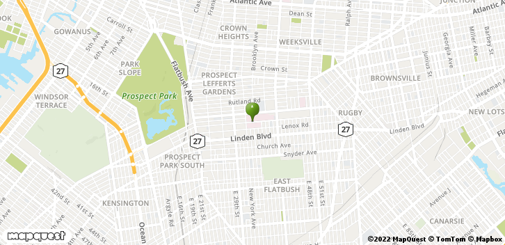 451 Clarkson Ave Brooklyn, NY, 11203 Map