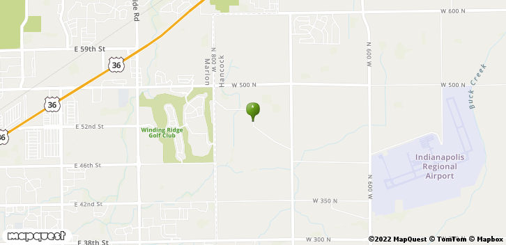 7476 W Lane Rd Mccordsville, IN, 46055 Map