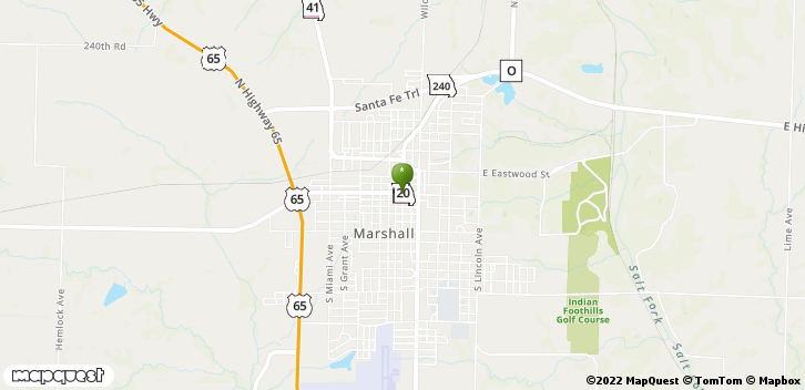 75 South Lafayette Avenue Marshall, MO, 65340 Map