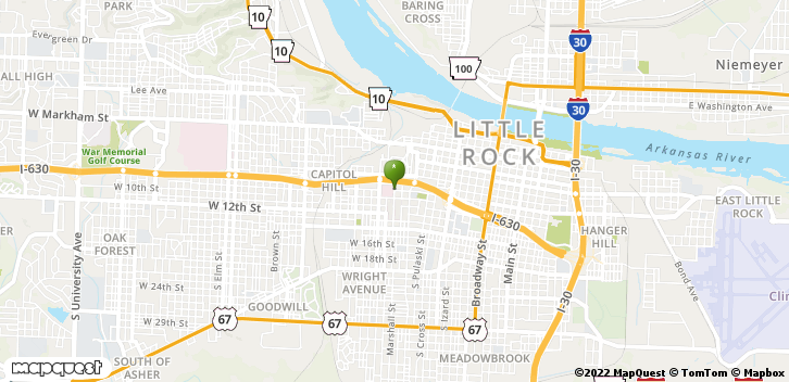 800 Marshall St Ste 653 Little Rock, AR, 72202 Map