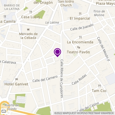 Localización del II taller de formación en ciclismo urbano