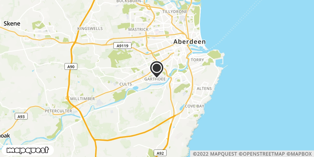 local map of watch repair drop off points in Aboyne, Aberdeenshire | Repairs by Post