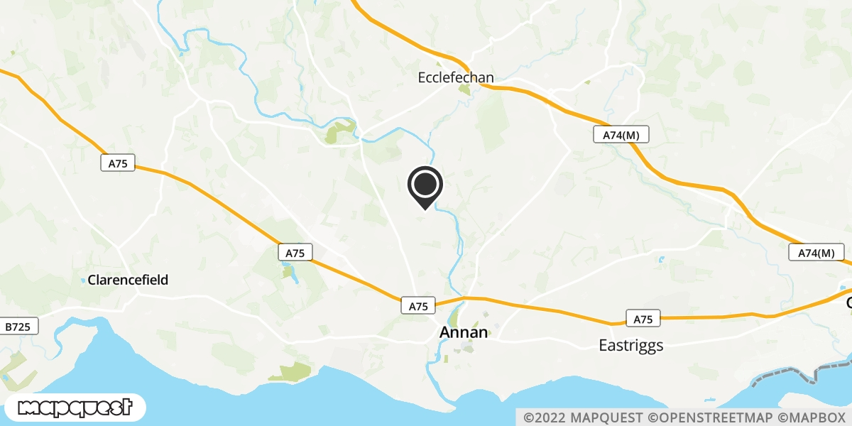 local map of watch repair drop off points in Annan, Dumfriesshire   Repairs by Post