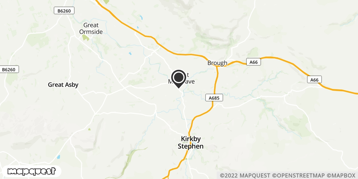 local map of watch repair drop off points in Appleby, Cumbria | Repairs by Post
