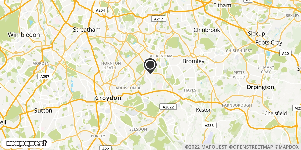 local map of watch repair drop off points in Aylesford, Kent | Repairs by Post
