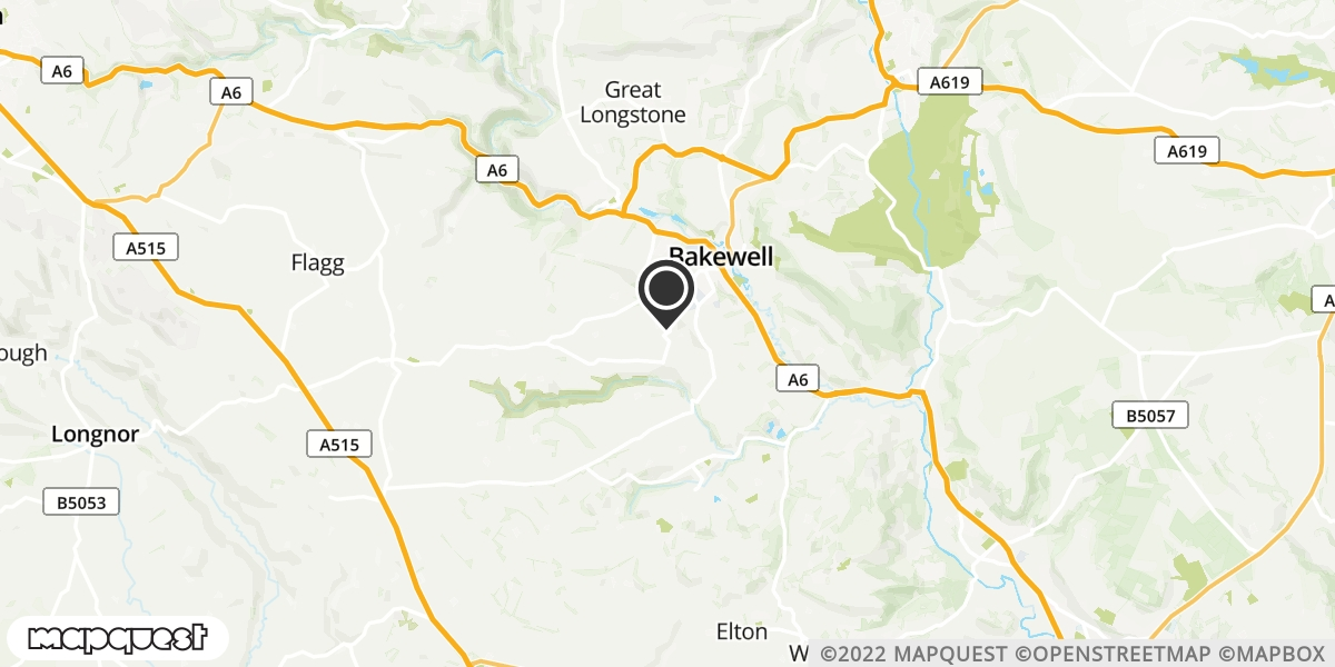 local map of watch repair drop off points in Bakewell, Derbyshire | Repairs by Post