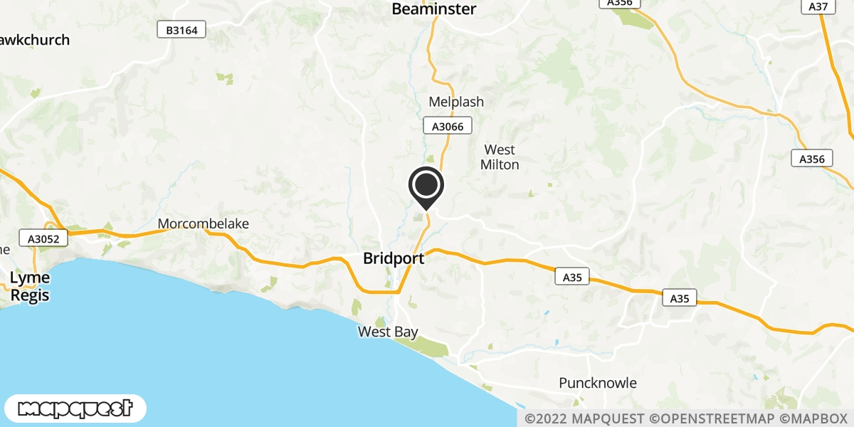 local map of watch repair drop off points in Beaminster, Dorset | Repairs by Post