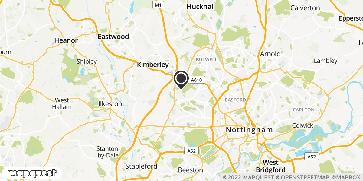 local map of watch repair drop off points in Blidworth, Nottinghamshire | Repairs by Post
