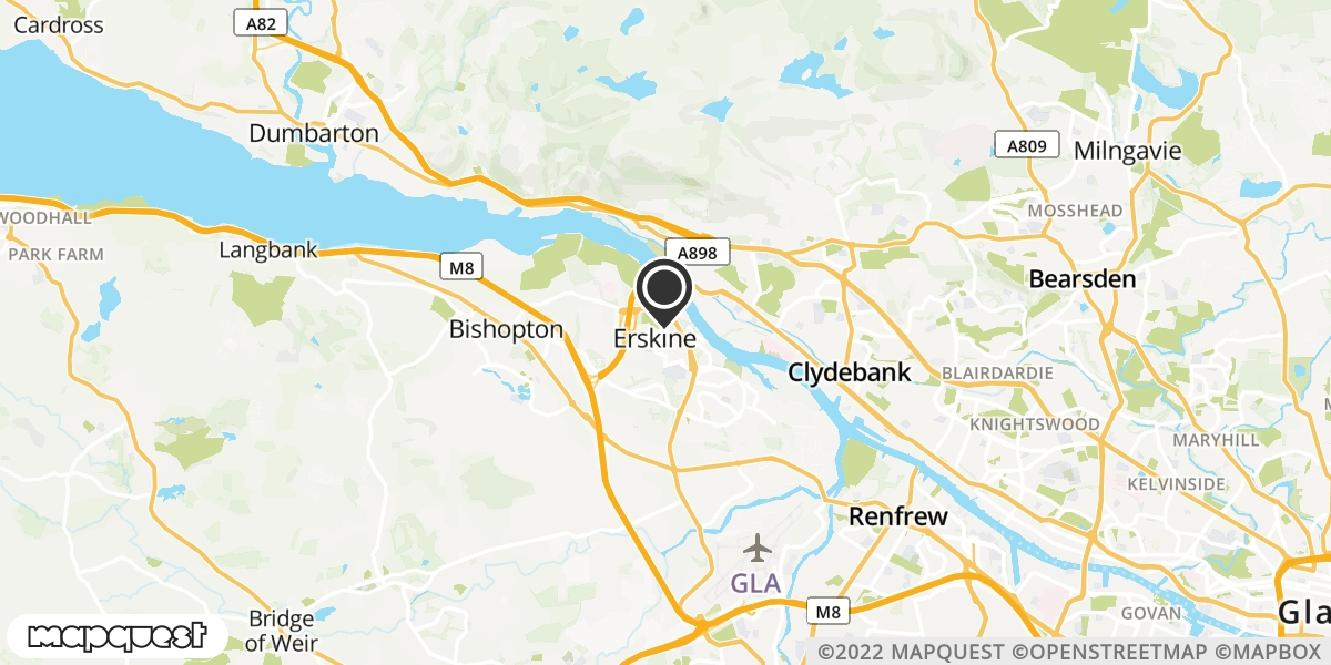 local map of watch repair drop off points in Buckie, Morayshire   Repairs by Post
