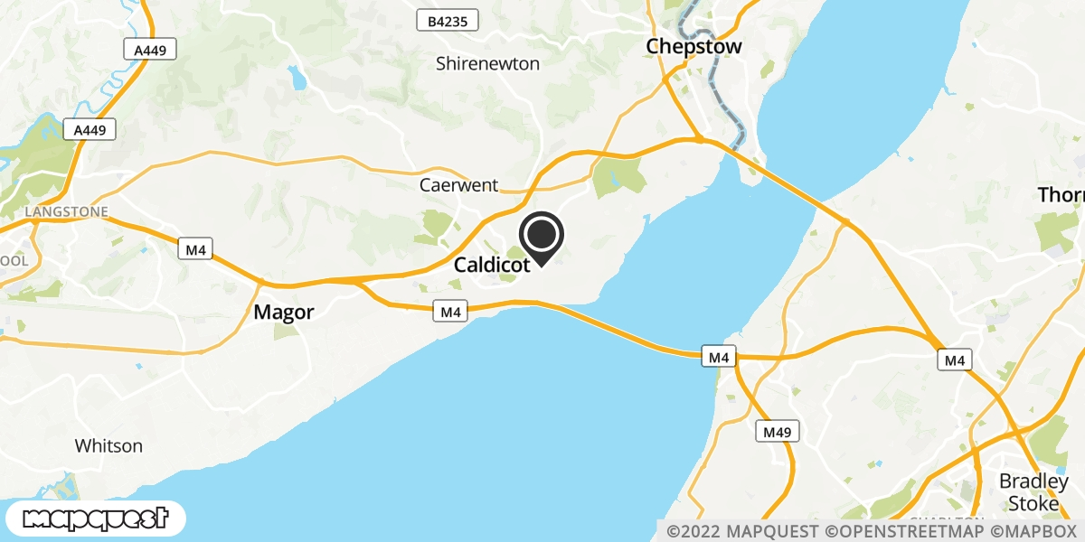 local map of watch repair drop off points in Caldicot, Gwent | Repairs by Post