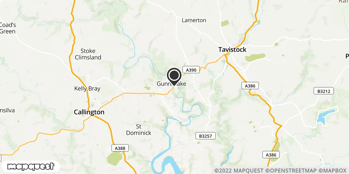 local map of watch repair drop off points in Calstock, Cornwall | Repairs by Post