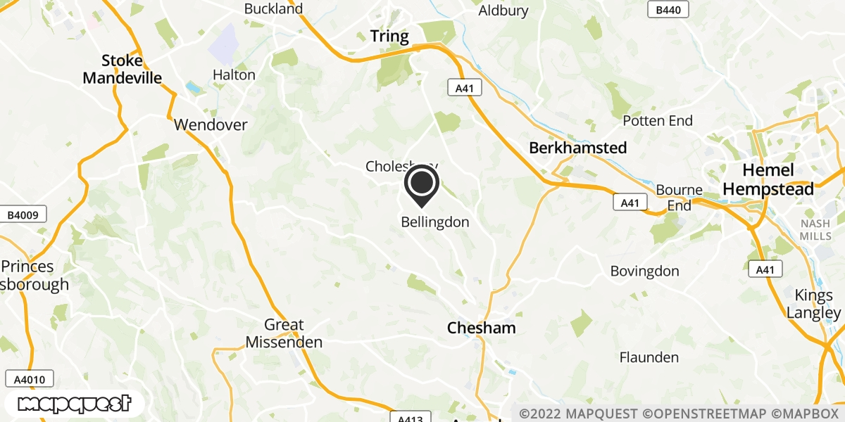 local map of watch repair drop off points in Chesham, Buckinghamshire | Repairs by Post