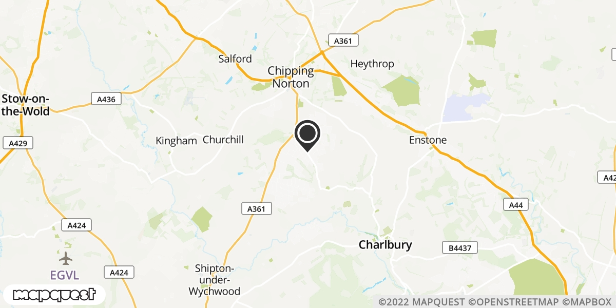 local map of watch repair drop off points in Chipping Norton, Oxfordshire | Repairs by Post