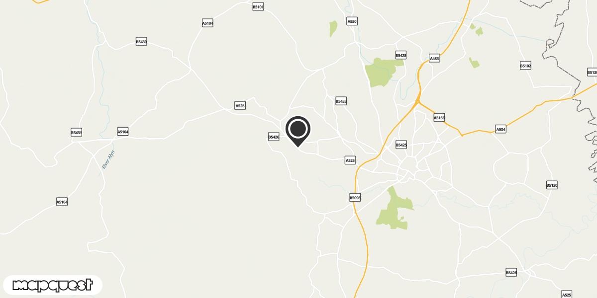 local map of watch repair drop off points in Coedpoeth, Wrexham | Repairs by Post