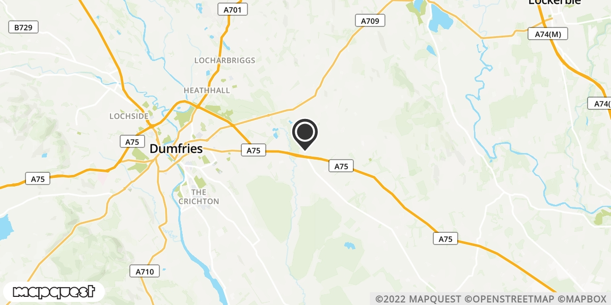 local map of watch repair drop off points in Collin, Dumfriesshire | Repairs by Post