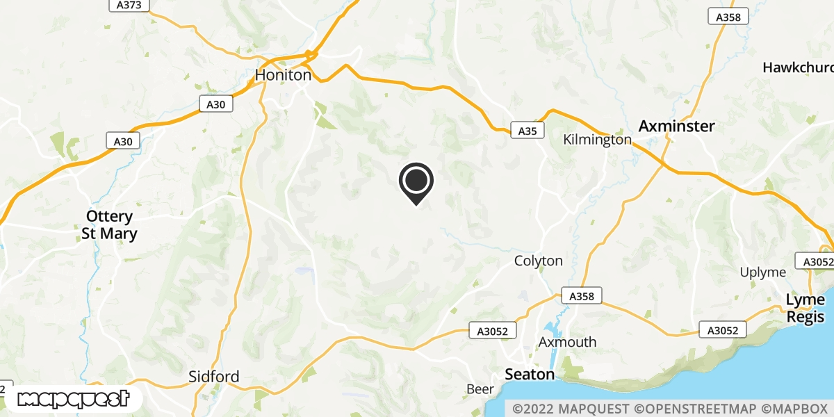 local map of watch repair drop off points in Colyton, Devon | Repairs by Post