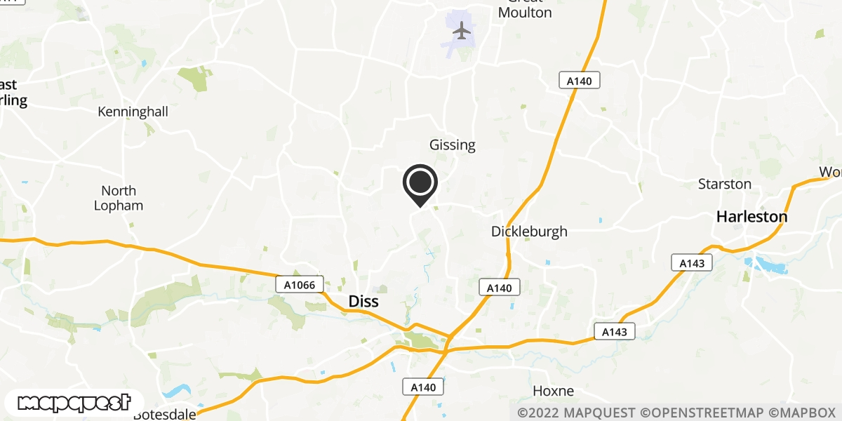 local map of watch repair drop off points in Diss, Norfolk | Repairs by Post