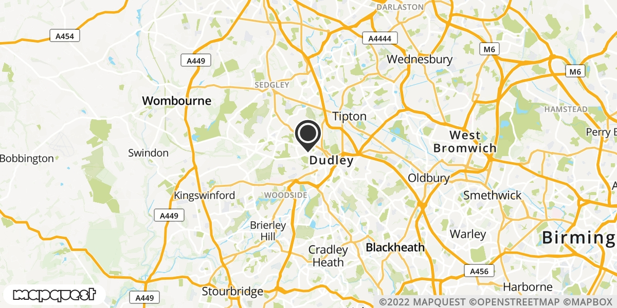 local map of watch repair drop off points in Dudley, West Midlands | Repairs by Post