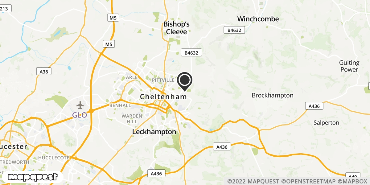 local map of watch repair drop off points in Dymock, Gloucestershire | Repairs by Post