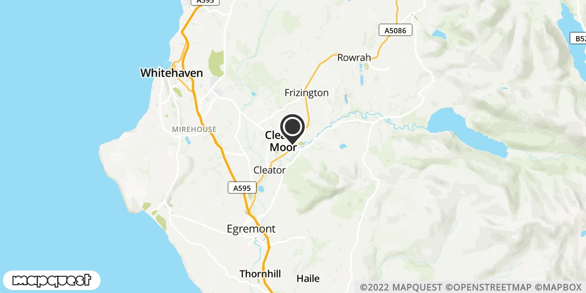 local map of watch repair drop off points in Frizington, Cumbria | Repairs by Post