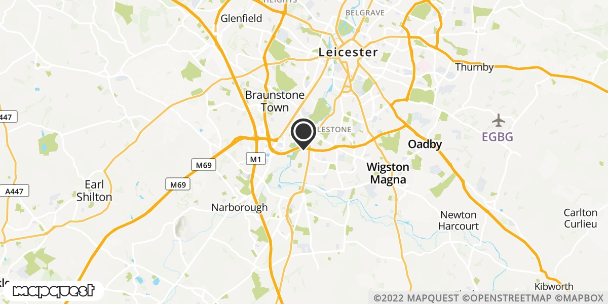 local map of watch repair drop off points in Gilmorton, Leicestershire | Repairs by Post
