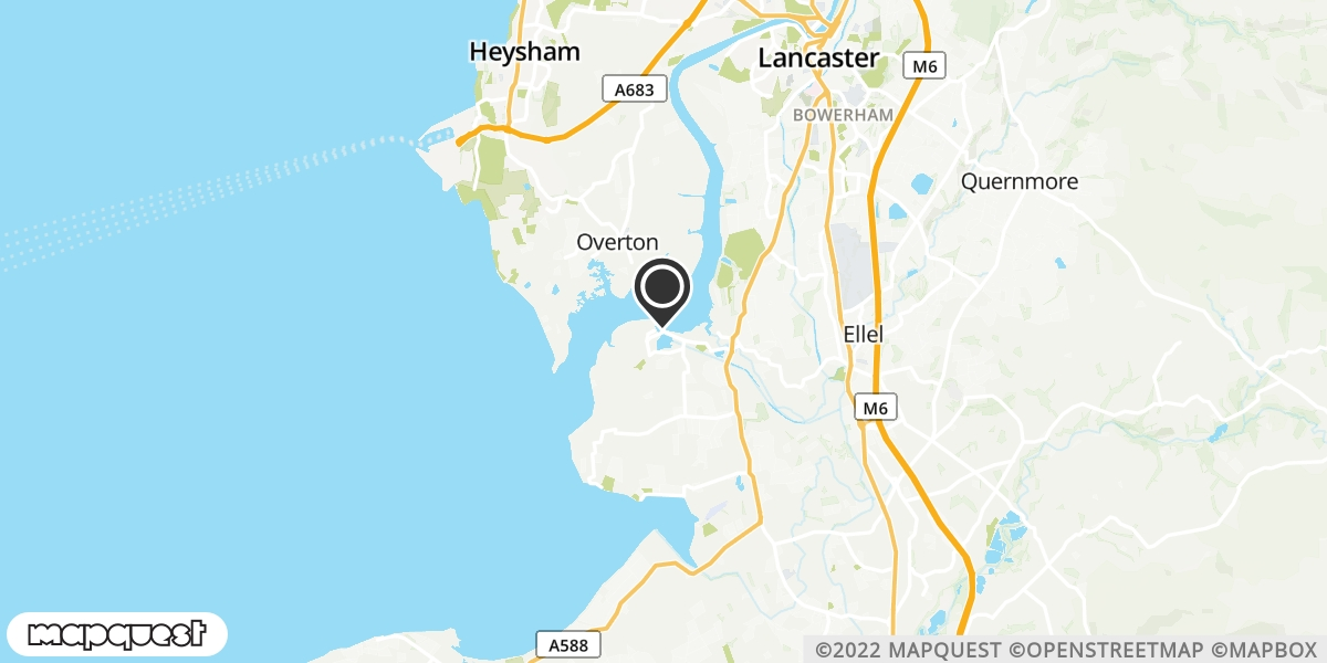 local map of watch repair drop off points in Glasson Dock, Lancashire | Repairs by Post